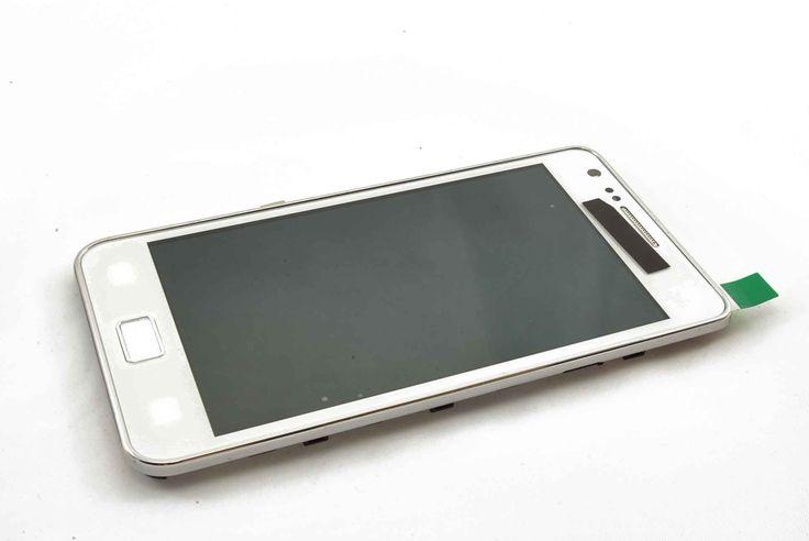 Дисплей Samsung i9100 Galaxy S2 в сборе с сенсором (белый)  Дисплей Samsung i9100 Galaxy S2 в сборе с сенсором (белый)