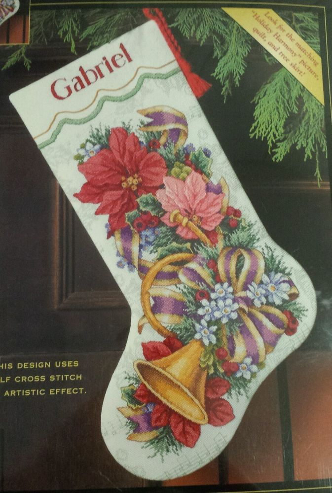 Dimensions Needlepoint Christmas Stocking Kits