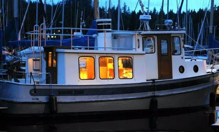 Classic nordic tug in seattle tug boats boat boat rental