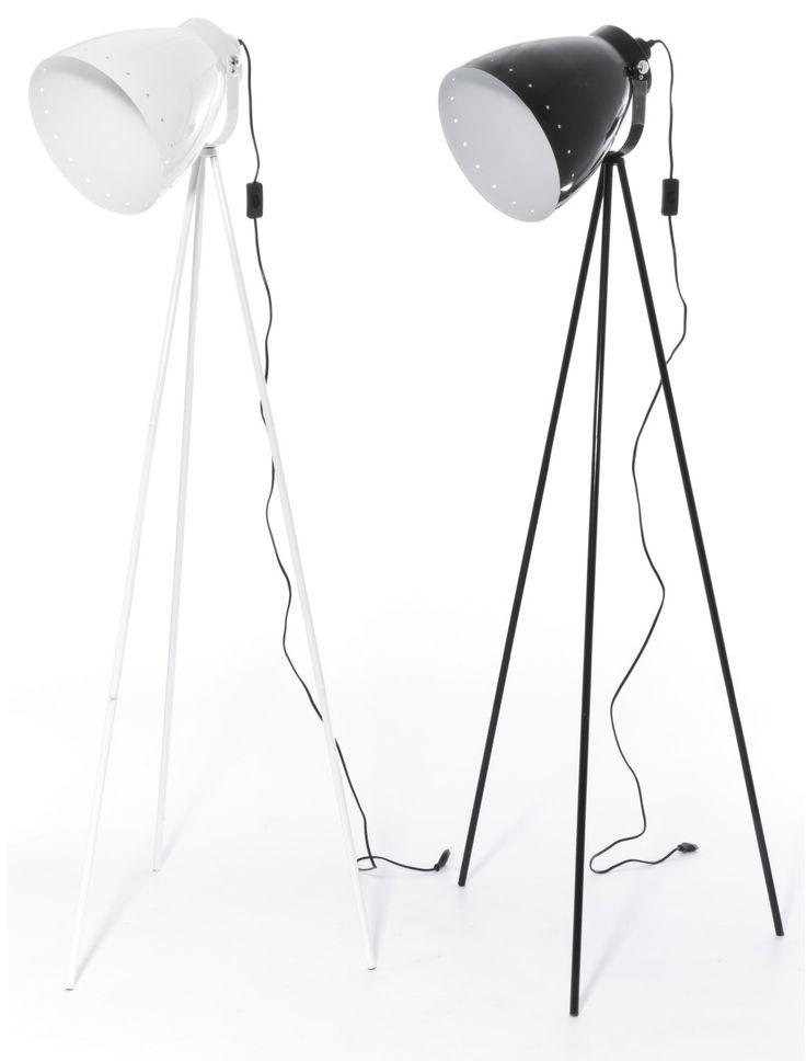 Blok jalkavalaisin, värivaihtoehtoina valkoinen ja musta