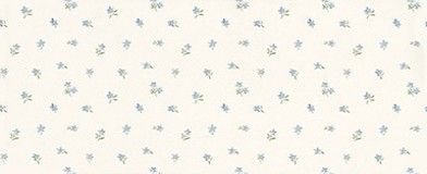 Lizabeth Mini Toss (68868) - Albany Wallpapers - A mini print of flower motifs - showing in blue on a off white background. More colours are available. Please request a sample for true colour match.