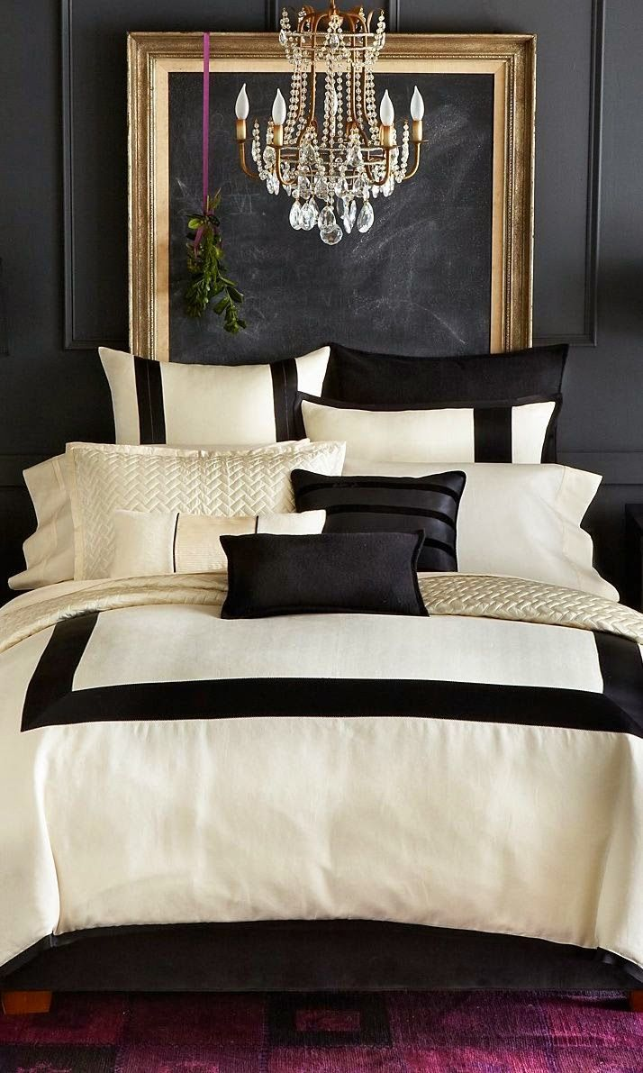 Paredes escuras house ideas style and house for Cream and black bedroom designs