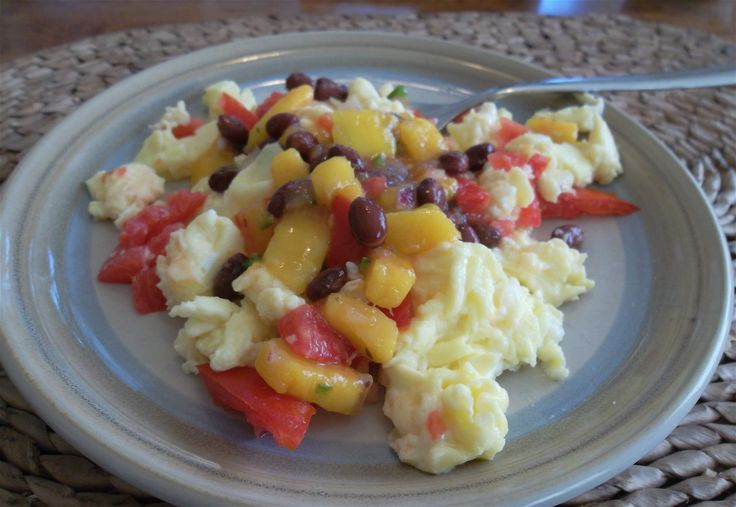 Mango salsa is best made during late summer when tomatoes are abundant, ripe, juicy and fresh!