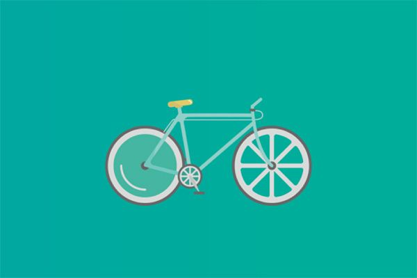 In this tutorial i will show you step by step how to create a flat design bicycle in Adobe Illustrator using simple shapes.