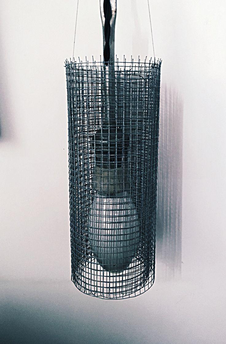 Макет подвесного светильника для индустриального концепта. #Мощь 200Вт