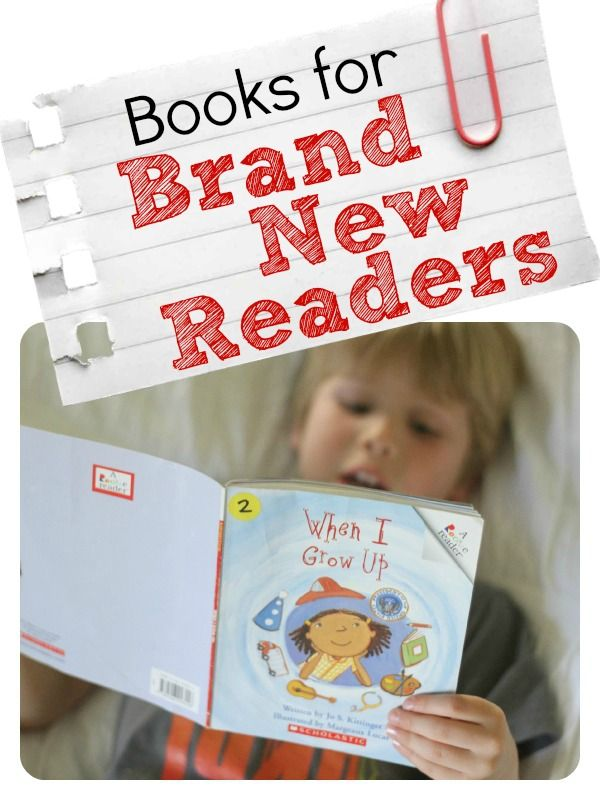 These books for brand new readers are simple enough for even the newest of young readers, while focusing on decoding and simple sight words.