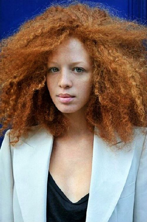 Ruivo-Afro-08 / Redhead Afro