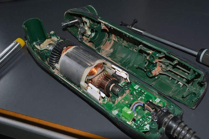 Reparation af defekt multicutter - Bosch PMF 190e .