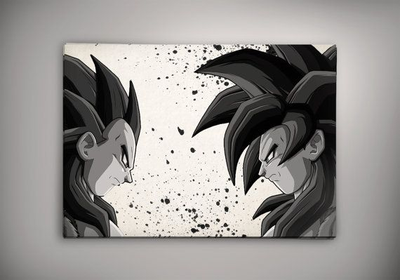 72 best images about dragon ball z on pinterest funko for Decoration murale dragon ball