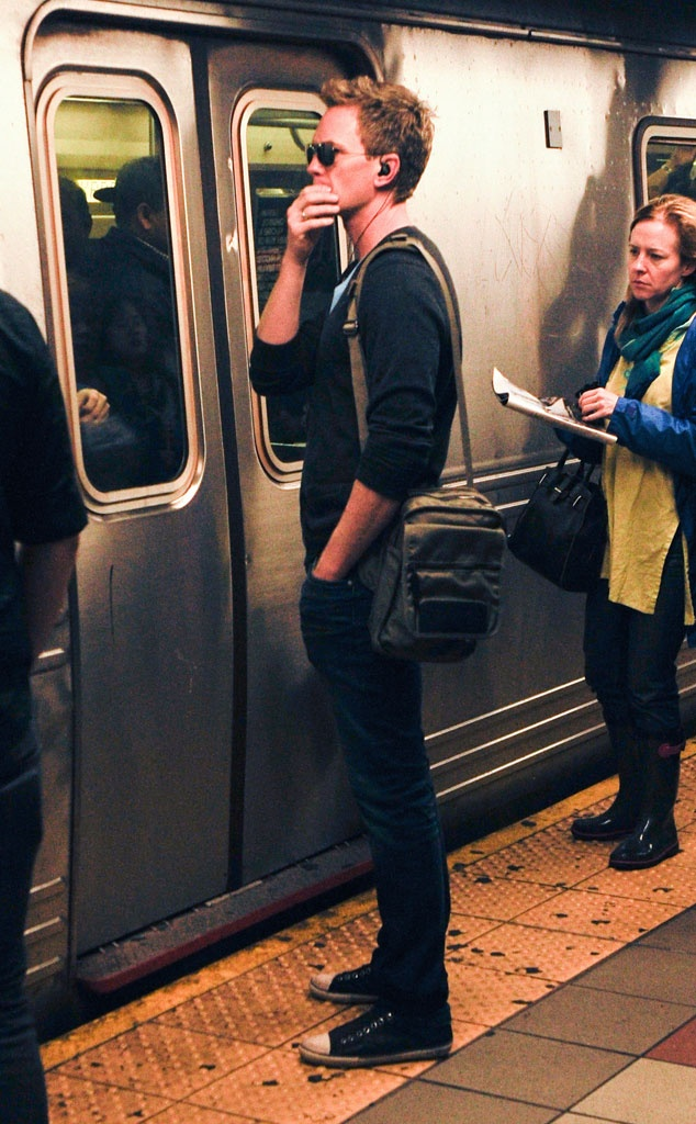 Neil Patrick Harris NY subway