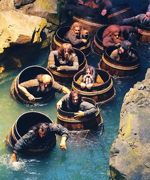 The barrels is probably me favorite scene from The Hobbit: Desolation of Smaug