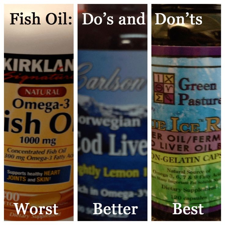 Fish oil do 39 s and don 39 ts from grass fed girl http for What does fish oil do