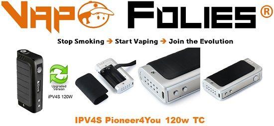 #Mod #box 120 watts #IPV4S #Pioneer4you – 55.22€