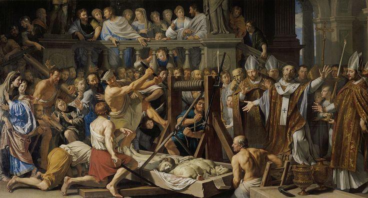 Reliques-de-saint-gervais,1660. Musée des beaux-arts,Lyon.