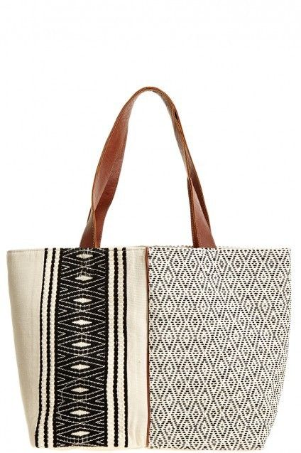 emilia cotton tote by mercado global