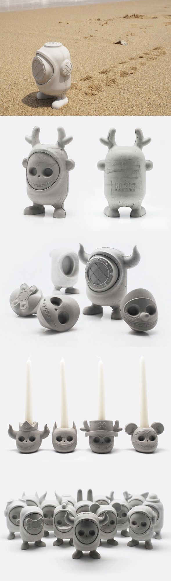 A little bit menacing but a whole lot adorable, UNITED MONSTERS are a creative…