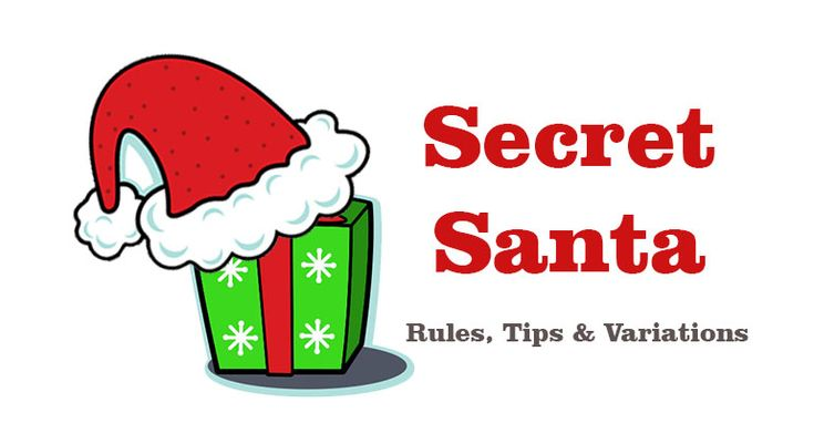 Secret Santa is the classic gift exchange where you know who you buy a gift for a specific person. No gift stealing here - Review Secret Santa rules, tips and game variations.