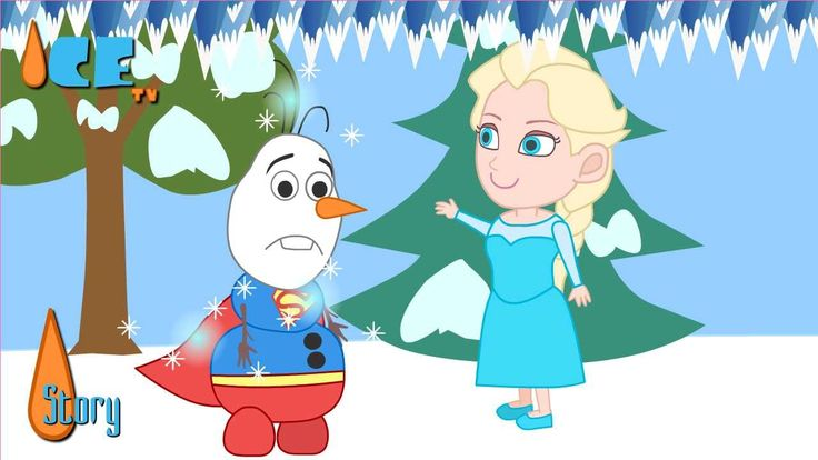 Frozen Olaf want to be superman can fly funny story by Ice TV Subscribe: http://bit.ly/1UqRUcN