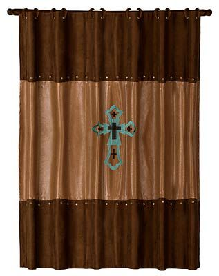 Las Cruces Western Shower Curtain