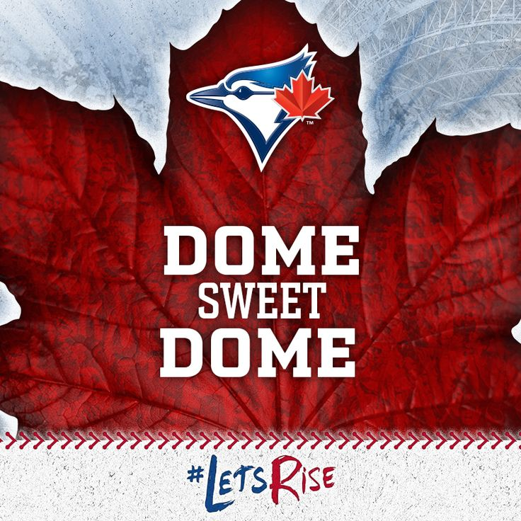 Dome sweet Dome #LetsRise #BlueJays