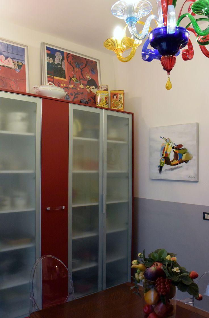 my works_interiors_kitchen_kartell_je t'aime pour toujours_sognidicristallo