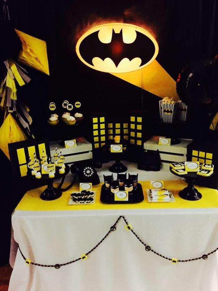 103 Best Batman Party Ideas Images On Pinterest Batman