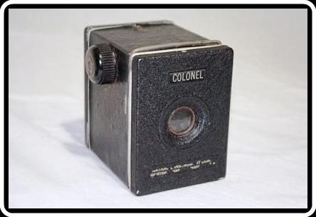 COLONEL    Câmera fabricada em Houston - Texas  nos Estados Unidos.