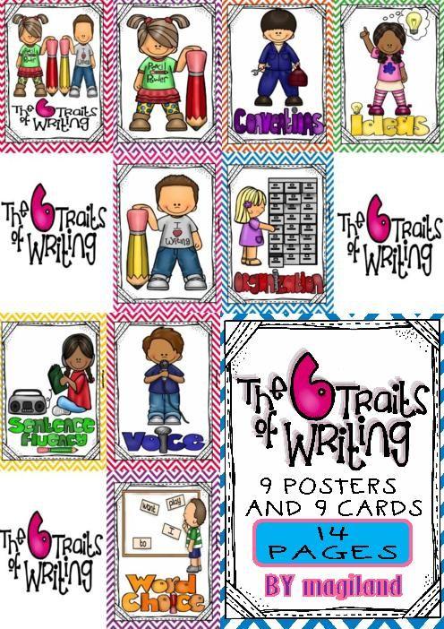 6 1 writing traits posters 1-16 of 38 results for 6 traits of writing posters teacher created resources traits of good writing bulletin board (4785) by teacher created resources $1199 $ 11 99 prime  guide included the 6+1 trait writing model is a  bold, mighty, and exciting writing poster set by really good stuff.