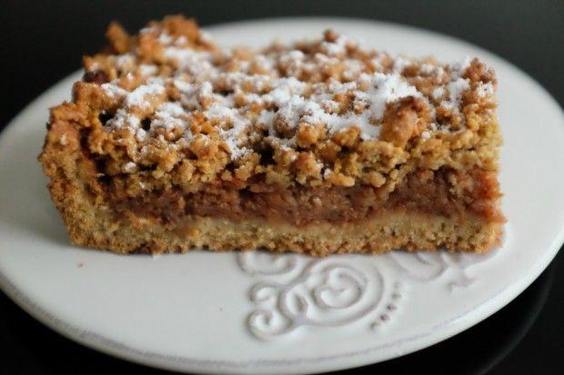 UZDROWIONA SZARLOTKA :)  Ciasto:      2 szklanki mąki pszennej razowej     1 szklanka mąki owsianej     0,5 szklanki brązowego cukru     3 jaja     150 g masła  Jabłka:      1,5 – 2 kg jabłek     3 łyżeczki cynamonu  Po więcej udaj się na: http://kreatorniazmian.pl/przepis-szarlotka/