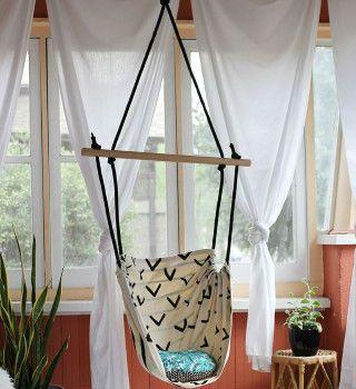 Veja aqui passo a passo como fazer uma cadeira de balanço tipo rede