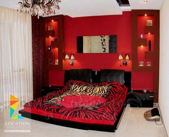 بالصور أحدث الوان دهانات غرف نوم للعرسان 2018 2019 لوكشين ديزين نت Interior Design Red Rooms Glamour Interiors