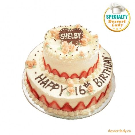 At Dessert Lady, we offer freshly baked and beautifully decorated Birthday cakes in Toronto. We have an exclusive variety of delicious cake collection for an amazing birthday surprise.