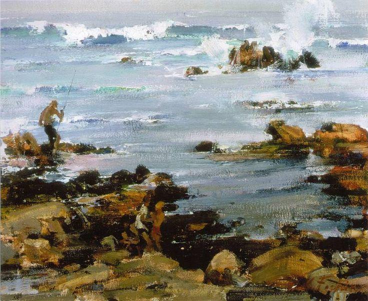 Залив Монтерей (1925). Николай Фешин