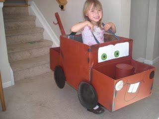 Mater cardboard box car - Google Search