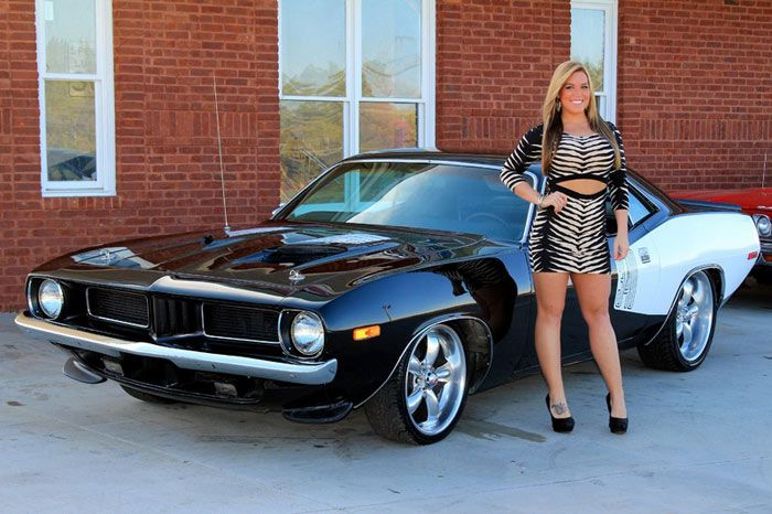 1973 PLYMOUTH CUDA 340 Automatic