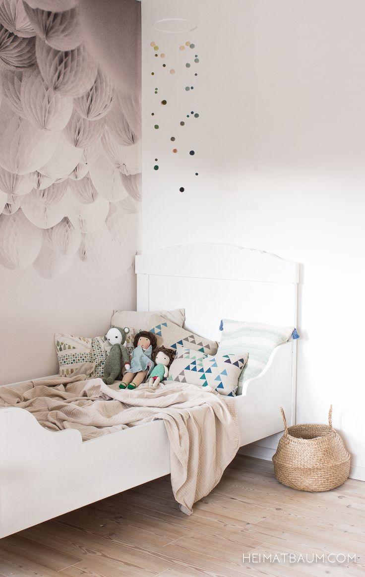 soft and neutral beautiful sleep corner