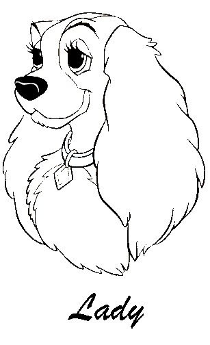 Disney Coloring Pages -  (printable, copics, coloring page)
