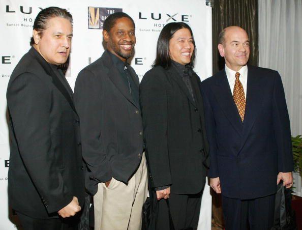 Robert Beltran, Tim Russ, Garrett Wang and Robert Picardo