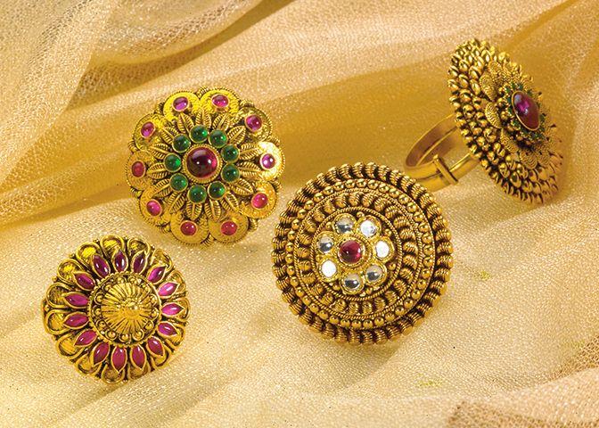 Bajirao Mastani Collection - Beautiful Gold Rings