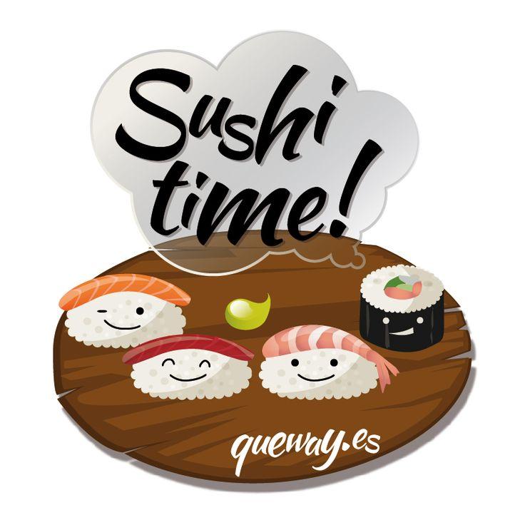 ¡Hoy es el Día Internacional del Sushi! ¡Feliz Sábado! ;)