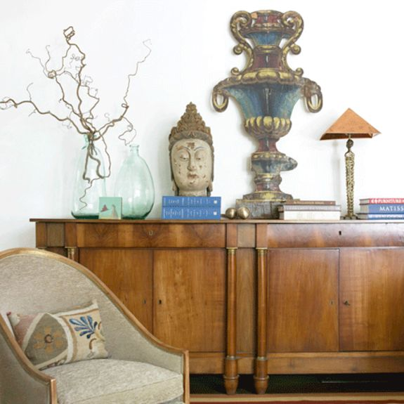 Living Vignette Eclectic Transitional By Carter Kay Interiors
