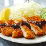 Easy recipe for tonkatsu, which is a panko breaded, deep-fried pork cutlet served with a sweet, tangy, and savory sauce. Crispy, crunchy, and delicious!