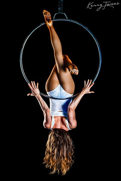 Suspended Beauty / Model: Kristi Monson / Grip: David Ammons