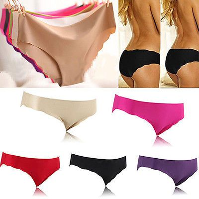 Womens-Sexy-Seamless-Soft-Lingerie-Briefs-Hipster-Underwear-Panties-Underpants