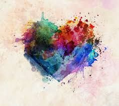 colourful heart