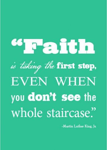 Great words from Martin Luther King Jr. #faith #believe #martinlutherkingjr
