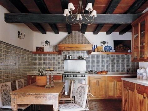 25 best Mexican design images on Pinterest Haciendas, Mexican - mexican kitchen design