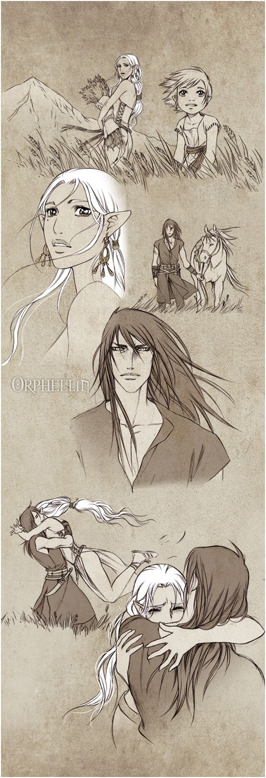 Longing by Synke.deviantart.com on @DeviantArt. Characters belong to Synke also known as Orpheelin