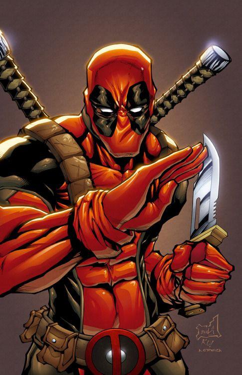 Deadpool. A little to badass for what he usually does