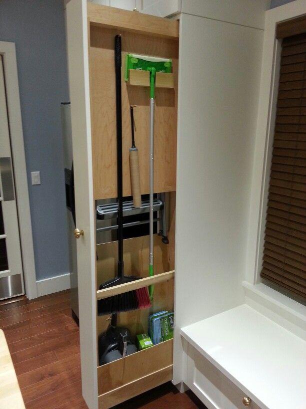 Best 25+ Broom storage ideas on Pinterest   Pallet ideas ...